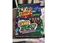Camp rock set of 2 dvds