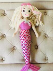 Girls shimmer mermaid doll