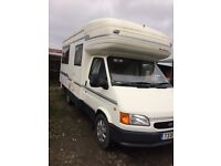 Motorhome for sale. Recent service/MOT/CAM Belt. Very good condition throughout.