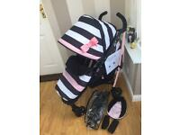 Rare Cosatto yo2 go lightly 3 stroller & accessories pram/pushchair 💖💖 NOW £70 💖💖