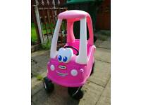 Little Tikes cosy coupe.