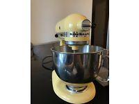 KitchenAid 150 Artisan 4.8L Stand Mixer - Majestic Yellow