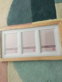 PICTURE FRAME THREE SECTIONS NEVER USED REDUCED