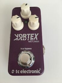 Vortex Mini Flanger Pedal by TC Electronic - Immaculate Condition