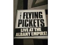 The Flying Pickets Live at the Albany Empire! Vinyl lp