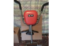 This v fit exercise seat is in good condition . Just don't have space for it anymore