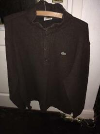 Men's Lacoste jumper xl size 7