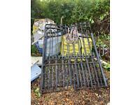 Wrought Iron Gates. Large & Heavy