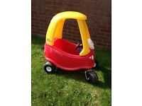 Little tikes crazy coupe and petrol pump