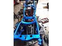 Polaris Predator Troy Lee ATV QUAD BIKE fully rebuilt basicly 0 miles