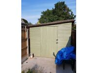 Nearly new garden shed for sale - 18ft x 8ft