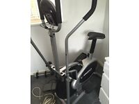 Cross trainer hardly used smoke and pet free home. Must collect xx