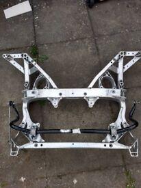 BMW M3 M4 F80 F82 F83 2014-2018 FRONT SUBFRAME CRADLE ENGINE MOUNTS ANTI ROLLBAR