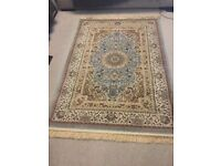 DUCK EGG BLUE RUG 45£
