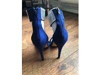 Colbalt blue heels (Never Worn,Brand New)