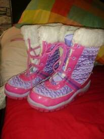 M&S girls boots