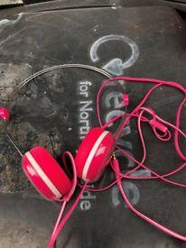childs headphones - pink