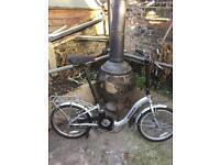Unisex ammaco folding bike 🚴.sensible offers considered