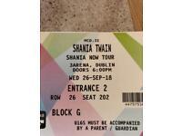 Shania Twain Dublin 3Arena 26/9/18
