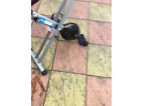 Pro Fitness Folding Exercise Bike For sale