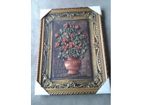 3D Picture Frame Vintage gild baroque design
