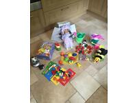 Box Of Toys (See Listing For Details Of Everything Included + All Photos)
