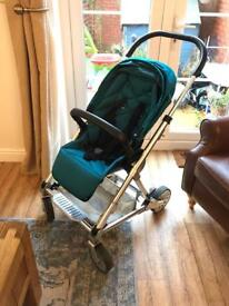 Mamas & Papas Urbo pushchair and carry cot