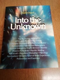 Into The Unknown - Readers Digest - 1988 - Hardback Book