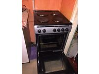 Black and grey electric cooker