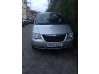 Chrysler Voyager 2.5 CRD diesel ,7 seater for sale, manual,108k milage