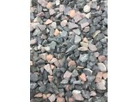 20 mm cairn grey garden and driveway chips/ stones/ gravel