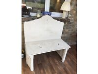 Bench Loveseat Monkseat Wooden painted Bench