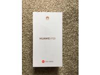 Huawei P20 - Unlocked, Sealed