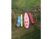 Windsurfing Equipment - Board, Sails
