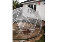 Garden igloo dome
