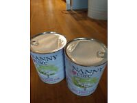 Nanny Care First Infant Milk (2 x 900g), powdered formula, unused / unopened