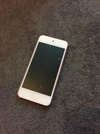 Pink iPod 6th gen