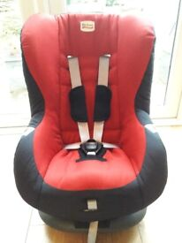 BRITAX Romer Eclipse Car Seat (Groupp 1) in Cosmos Red/Black **Immaculate Condition**