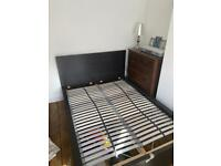FREE IKEA Malm double bed with storage draws