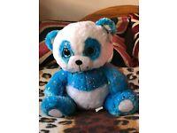 New Blue Plush Teddy Bear