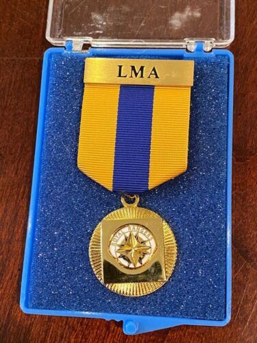 Royal Rangers Leaders Medal of Achievement LMA Discontinued Purple Gold