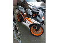 KTM RC125 MOTORBIKE FOR QUICK SALE!