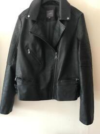 Female leather jacket next