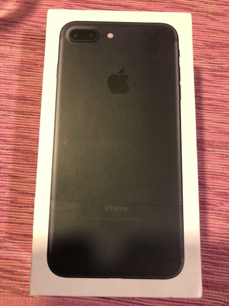 IPhone 7 Plus 256 GB Black unlocked immaculate