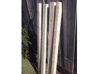 3x2 & 3x1.5 x 53inch Reclaimed timber spars.