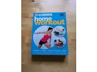 DK 15 minute home workout / Health book plus DVD. £1 Excellent condition