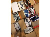 Job lot of Nike, Adidas, Asics, New Balance trainers