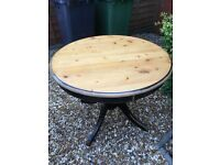 Wooden kitchen/dining table
