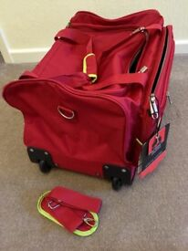 Pierre Cardin New (still with Tags) wheeled cabin sized holdall