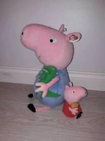 George Pig & Peppa Pig